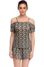 Load image into Gallery viewer, Inner Sense  Organic Antimicrobial  Women's Sleep  PJ Top - Inner Sense