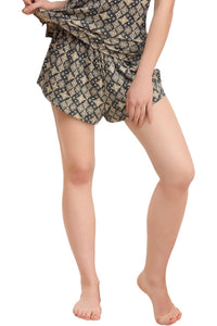 Inner Sense  Organic Antimicrobial Women's PJ Sleep Shorts - Inner Sense