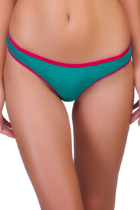 Organic Cotton Antimicrobial Thong