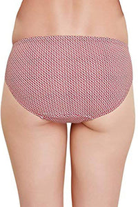 Inner Sense Organic Cotton Antimicrobial Frill Bikini (Pack of 3)