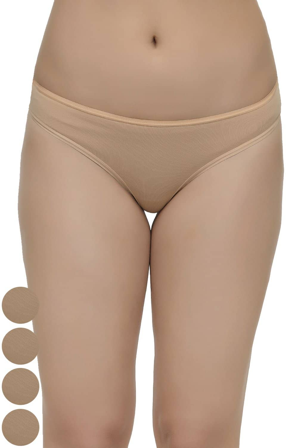 Inner Sense Organic Cotton Antimicrobial Thong (Pack Of 5)
