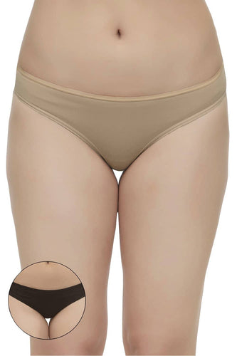 Inner Sense Organic Cotton Antimicrobial Thong ( Pack of 2 )