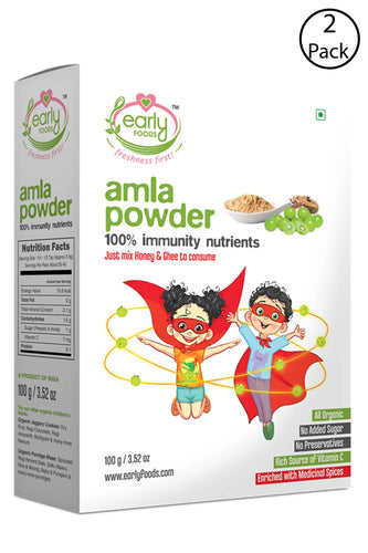 Pack of 2 - Amla Powder - Immunity Mix for Kids