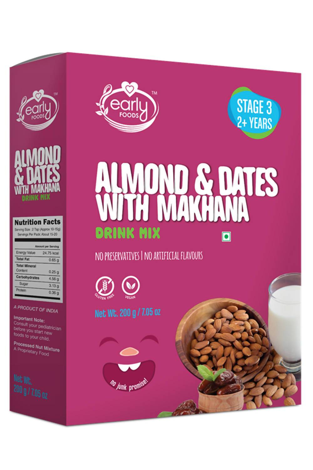 Almond & Date Drink with Makhana