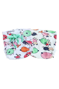 Superbottoms SuperNappy- Organic cotton nappy with Superdryfeel layer - Pack of 6 Printed