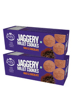 Load image into Gallery viewer, Pack of 2 - Organic Ragi and Choco Jaggery Cookies