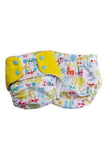 Superbottoms Freesize UNO diaper + 2 Organic Cotton insert (5-17kgs)