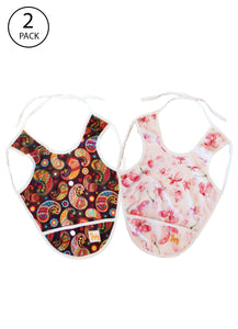 Superbottoms Wetproof Toddler Apron Bibs (Pack of 2)