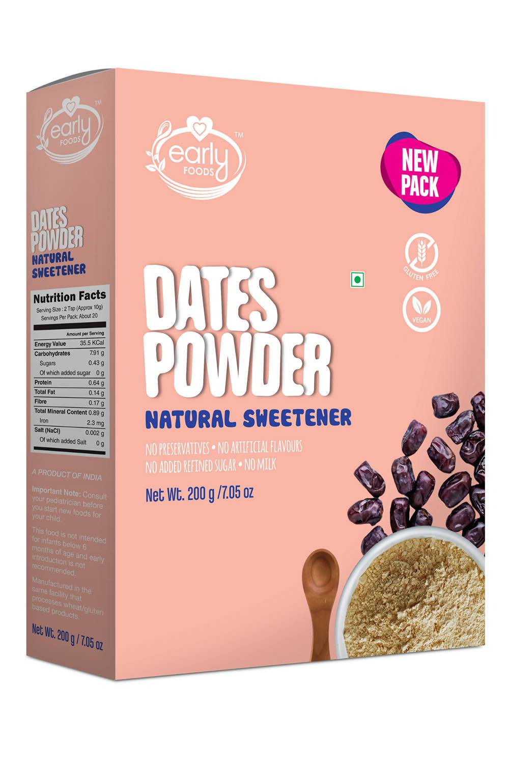 Dates Powder Natural Sweetener