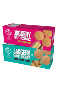 Assorted Pack - Foxtail Almond & Multigrain Jaggery Cookies