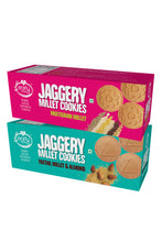 Load image into Gallery viewer, Assorted Pack - Foxtail Almond & Dry Fruit Jaggery Cookies