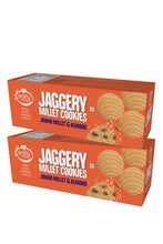 Load image into Gallery viewer, Pack of 2 - Jowar Almond Jaggery Cookies