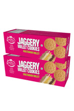 Load image into Gallery viewer, Pack of 2 - Organic Multi-grain Millet Jaggery Cookies