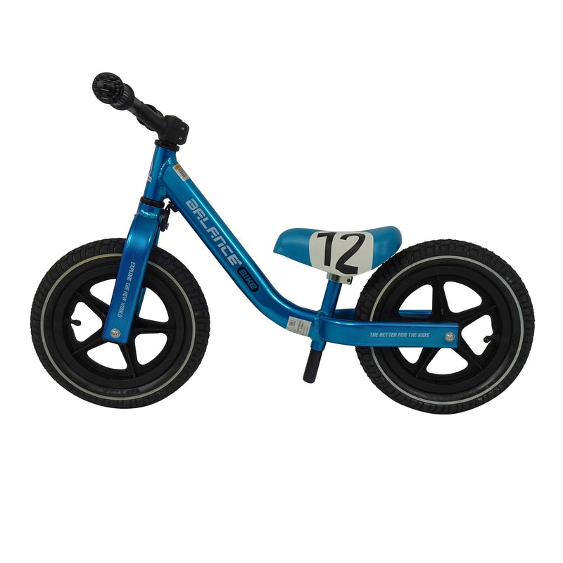 Eliiti Balance Bike Kick No Pedals Bicycle with Inflatable Wheels for Toddlers Kids 2 to 5 Years Old