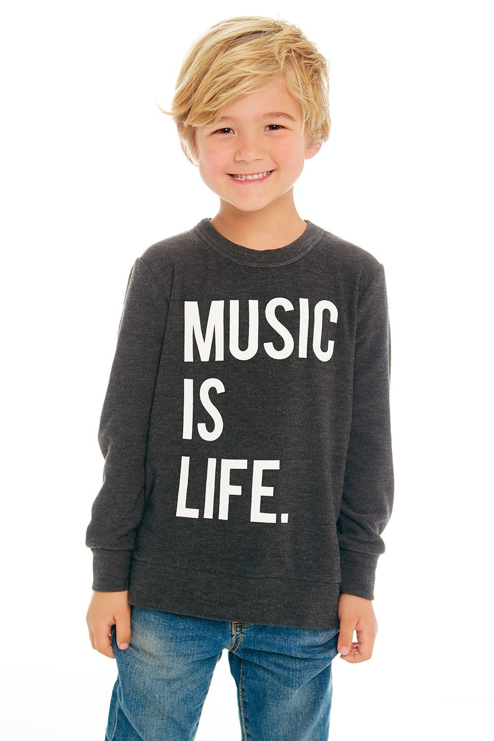 Chaser Kids Music Is Life Sweater