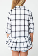 Load image into Gallery viewer, Hayden Girls Plaid Button Down