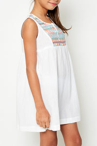 Hayden Girls Embroidered Dress