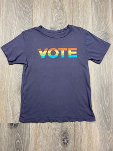 Rowdy Sprout Vote Kids T-shirt