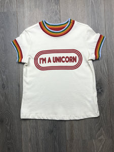 Tiny Whales Girls I'm A Unicorn T-shirt