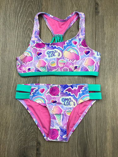Ingear OMG LOL Girls Bathing Suit