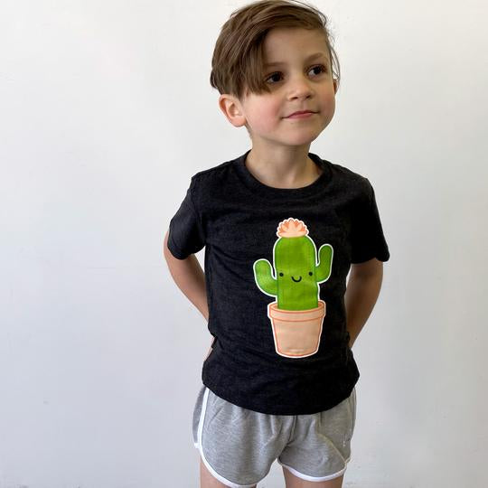 Whistle and Flute Unisex Kids Cactus T-shirt