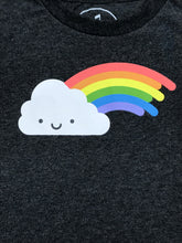 Load image into Gallery viewer, Whistle and Flute Unisex Kids Rainbow T-shirt
