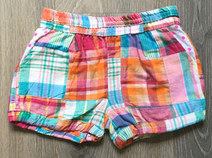 Andy & Evan Plaid Bubble Shorts