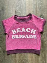 Load image into Gallery viewer, Tiny Whales Beach Brigade Terry Cloth Beach Tee