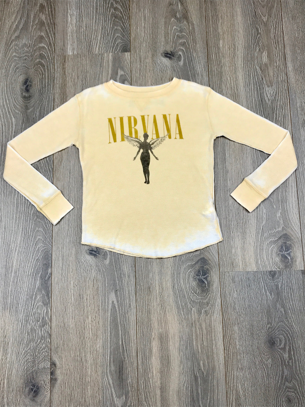 Rowdy Sprout Nirvana Kids Rocker Tee Long Sleeve