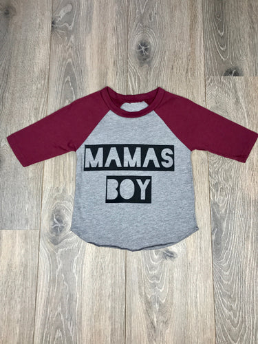 Nicky and Stella Mama's Boy Raglan