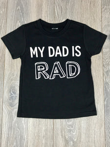 Nicky and Stella Rad Dad Kids T-shirt