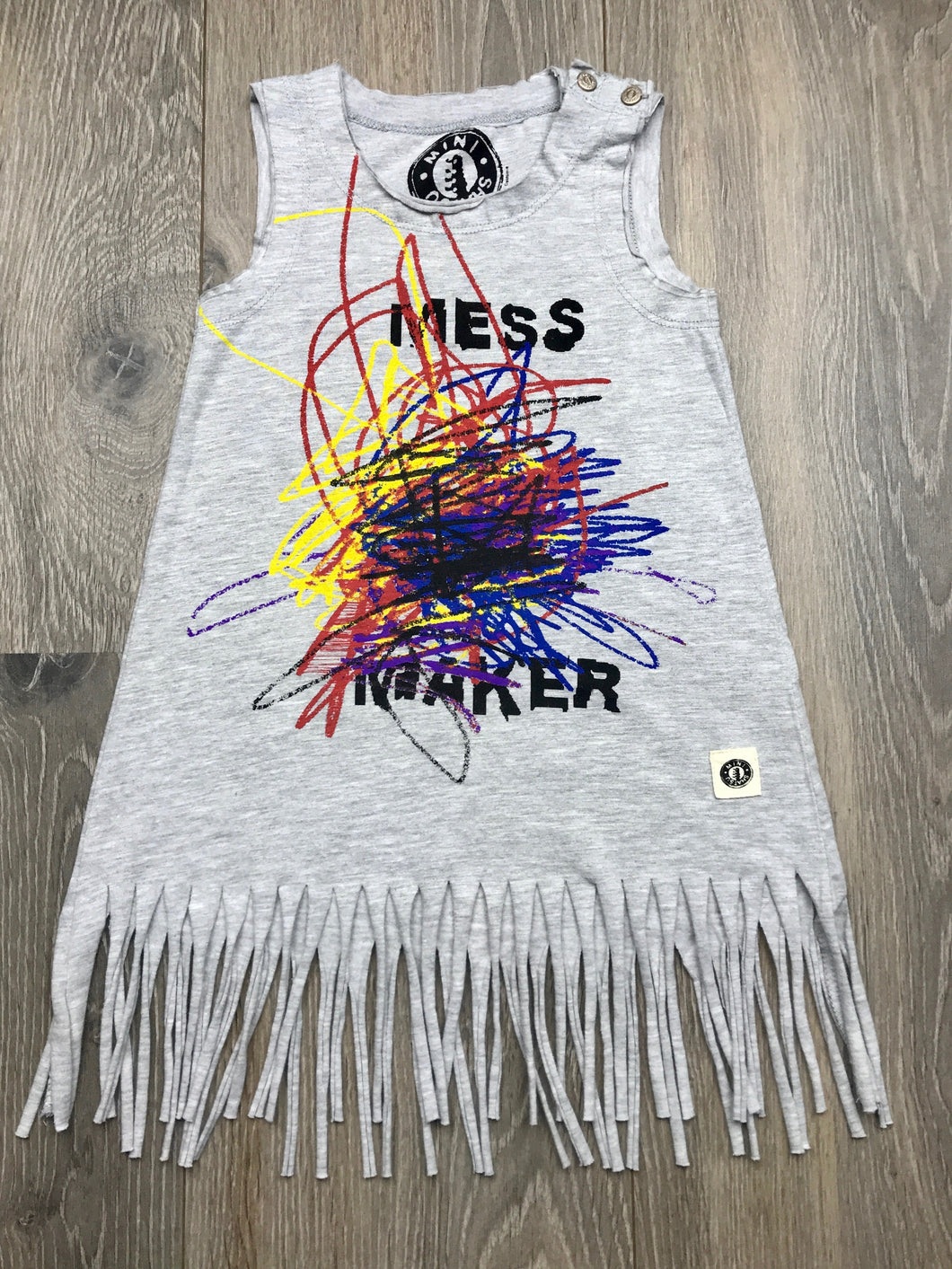 Mini Shatsu Mess Maker Baby and Girls Dress