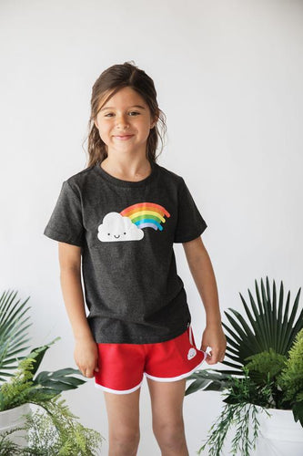 Whistle and Flute Unisex Kids Rainbow T-shirt