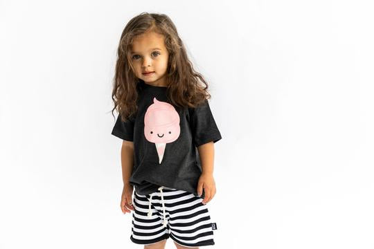 Whistle and Flute Unisex Kids Cotton Candy T-shirt