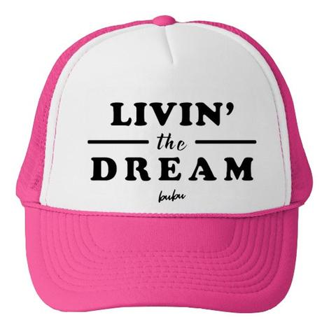 Bubu LA Livin The Dream Baby and Kids Trucker Hat