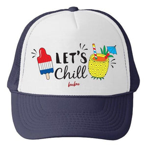 Bubu LA Let's Chill Baby and Kids Trucker Hat