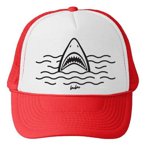 Bubu LA Shark Attack Baby and Kids Trucker Hat
