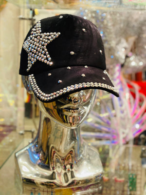 Star Studded Bling Adjustable Cap
