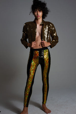 Glorious Gold Sequin Leggings