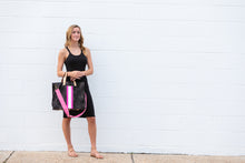 Load image into Gallery viewer, GLO girl bag- Black/Neon Pink
