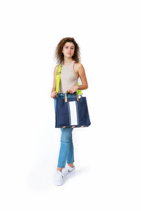 Limited Edition - Navy/White GLO girl - includes 3 crossbody straps