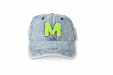 Load image into Gallery viewer, Denim Hat - Neon