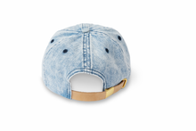 Load image into Gallery viewer, Initial Hat - Denim/Black
