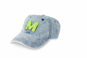 Denim Hat - Neon
