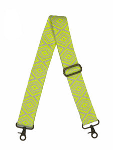 Crossbody Bag Strap - Neon Yellow