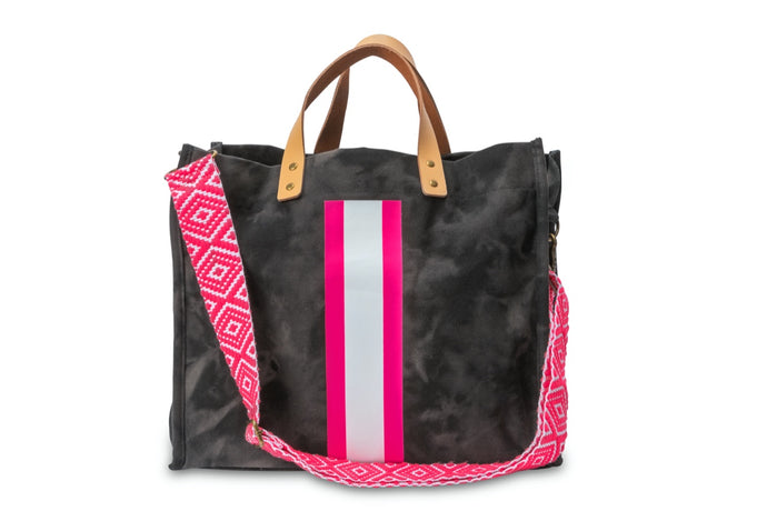 GLO girl bag- Black/Neon Pink (PRE-SALE)