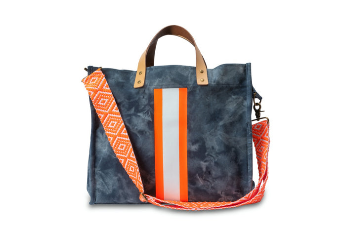GLO girl bag - Navy/Neon Orange (PRE-SALE)