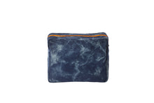 Load image into Gallery viewer, GLO girl pouch, Personalize Me! - Navy/Neon Orange