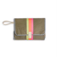 Load image into Gallery viewer, Army Green Changing Station Clutch