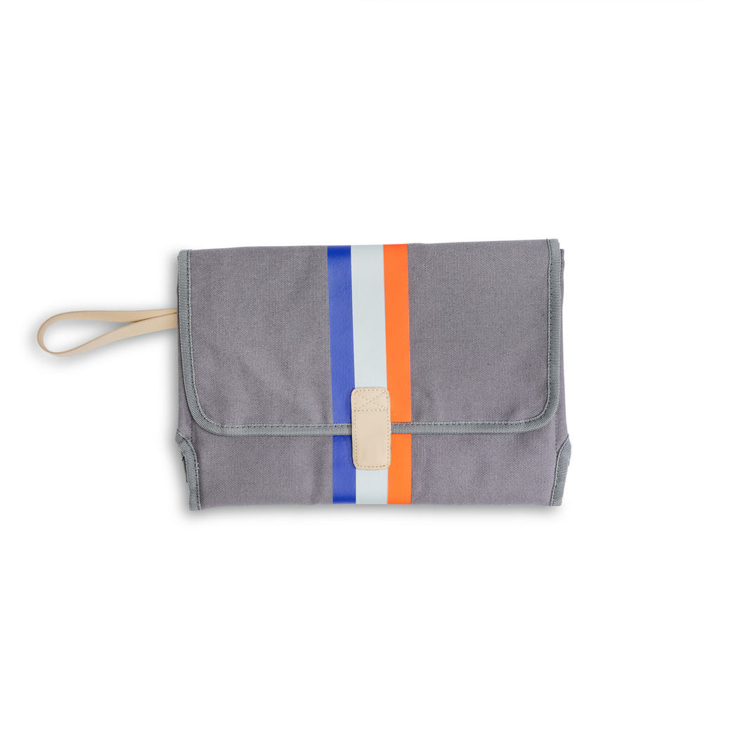 Slate Grey Changing Station Clutch
